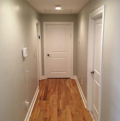 Agreeable Gray Hallway