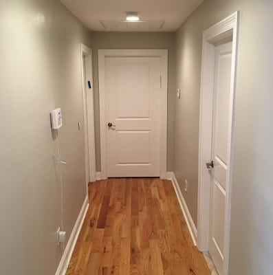 Agreeable Gray Hallway