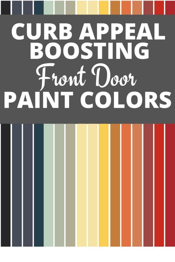 front door paint colors