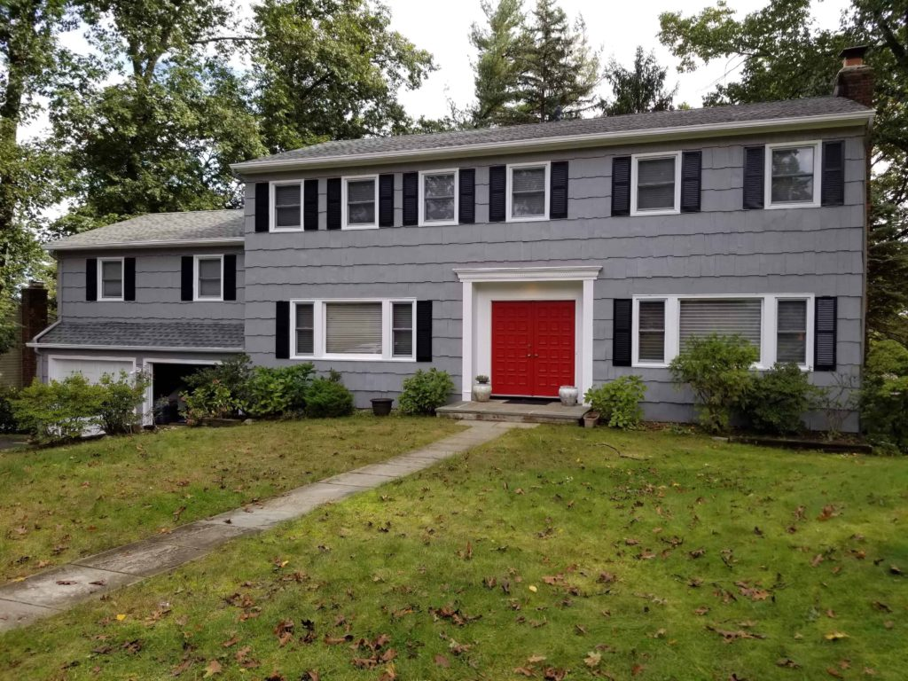 How to choose a front door paint color Red