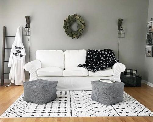 Mindful Gray living room