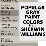 Popular SW Gray Paint Colors