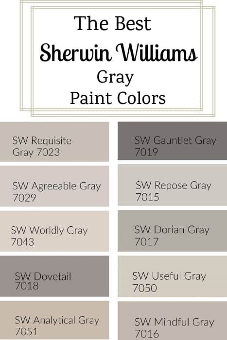 best sherwin williams gray paint colors (1)