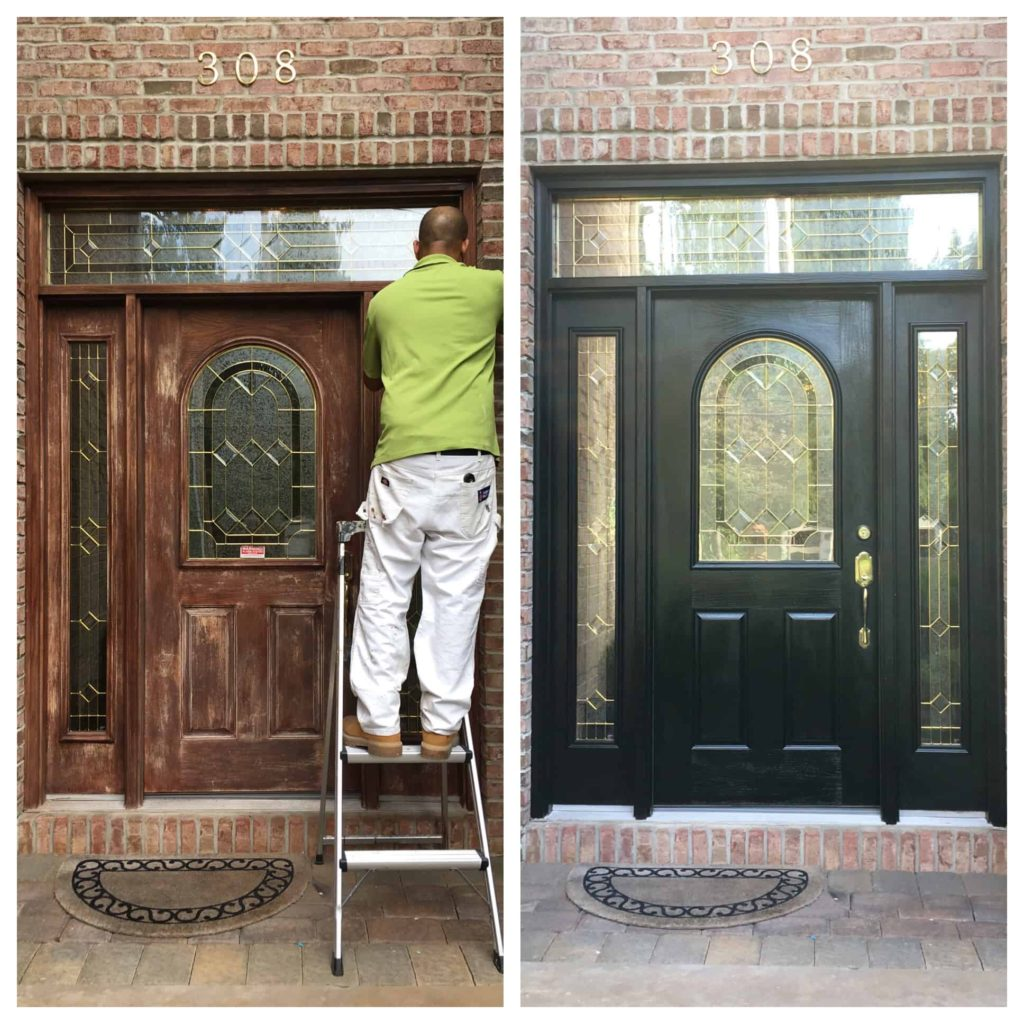 how to pick a exteriors door paint color Black