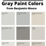 BM Gray swatches