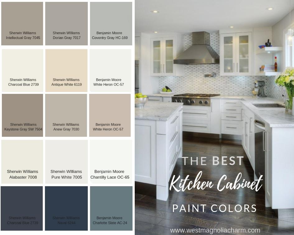 kitchen cabinet paint colors