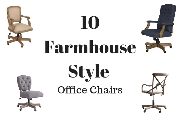 farmhouse style office chairs