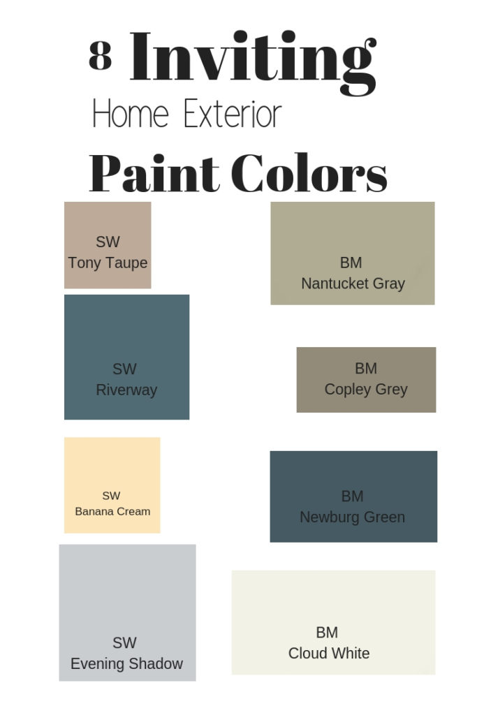 8 inviting exterior home paint colors