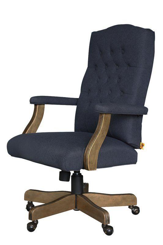 farmhouse office chair birch lane