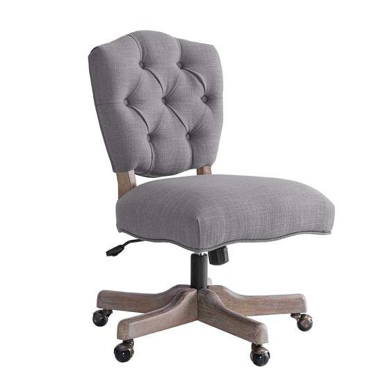 farmhouse office chair walmart