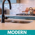Modern farmhouse kitchen faucets