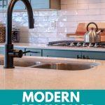 Modern farmhouse kitchen faucets