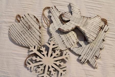 gift wrap ornament