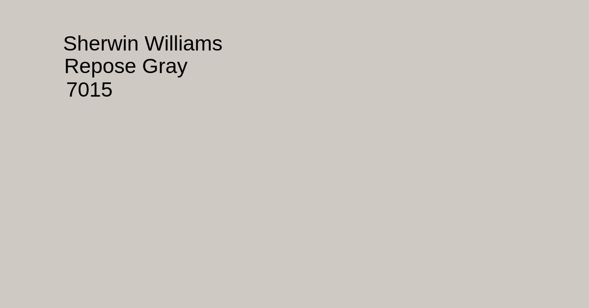 repose gray - sherwin williams swatch