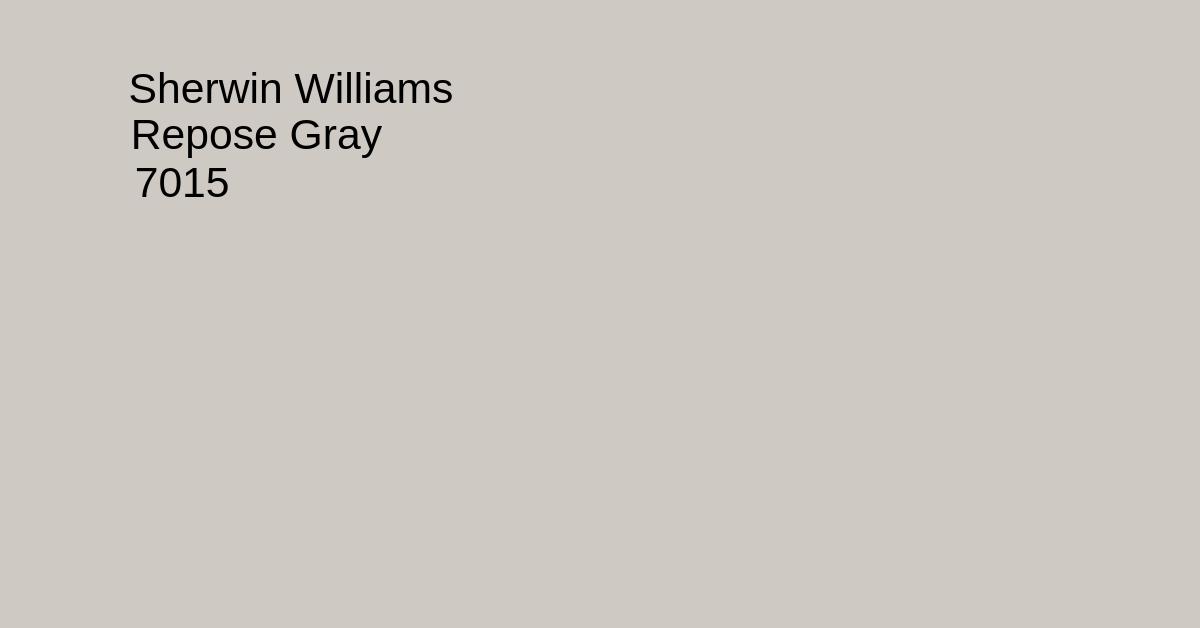 repose gray - sherwin williams swatch