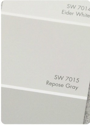 SW repose gray swatch
