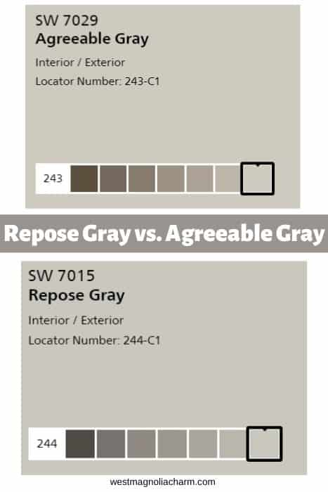 Repose Gray vs. Agreeable Gray (1)