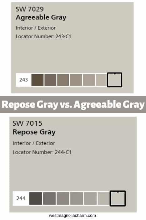 Repose Gray vs. Agreeable Gray (1)