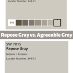 repose gray vs. agreeable gray
