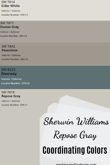 SW Repose Gray Coordinating Colors (3)