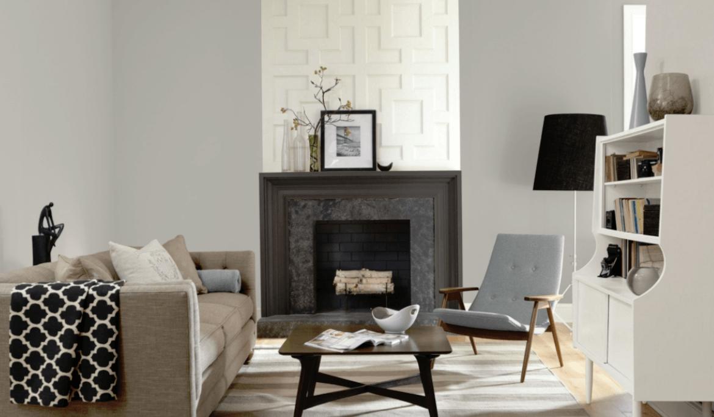 Repose Gray Living Room