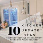 10 kitchen update ideas