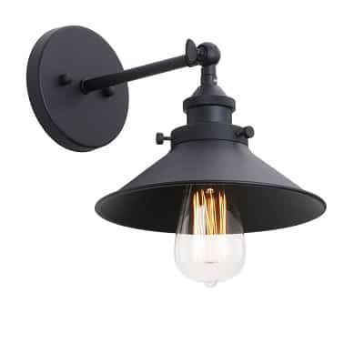 Industrial Wall Sconce Light 7.87 Inch Vintage Style_1