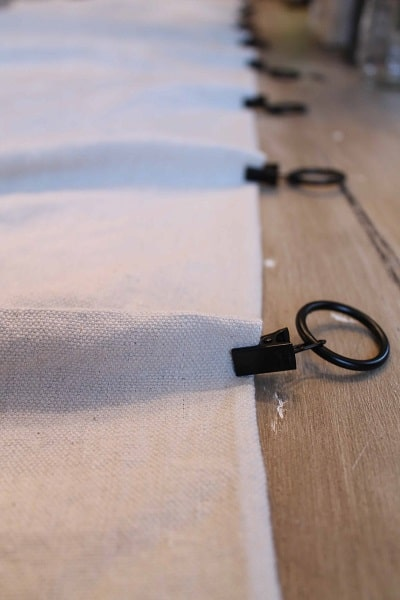 black curtain clips