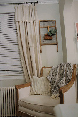 lowes drop cloth curtain