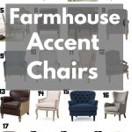 20 farmhouse style accent chairs