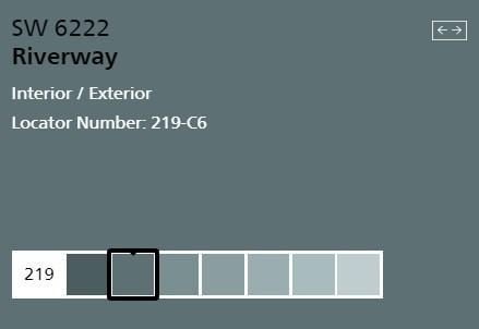 SW Riverway Swatch