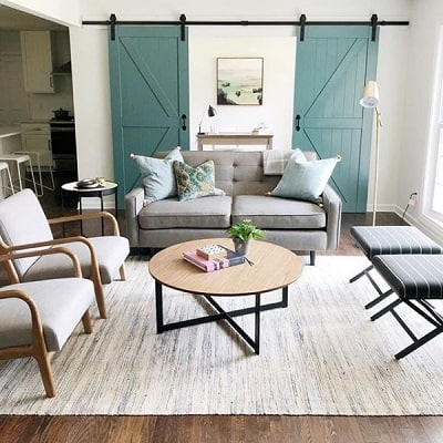 SW riverway living room