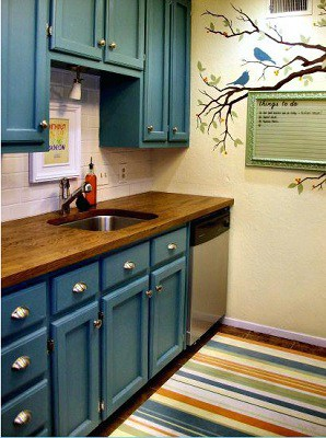 Sherwin Williams Riverway Cabinets