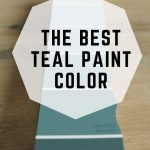 The BEST Teal Paint Color (1)