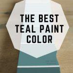 The BEST Teal Paint Color (1)