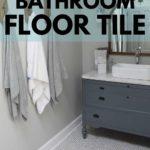 farmhouse bathroom floor tile