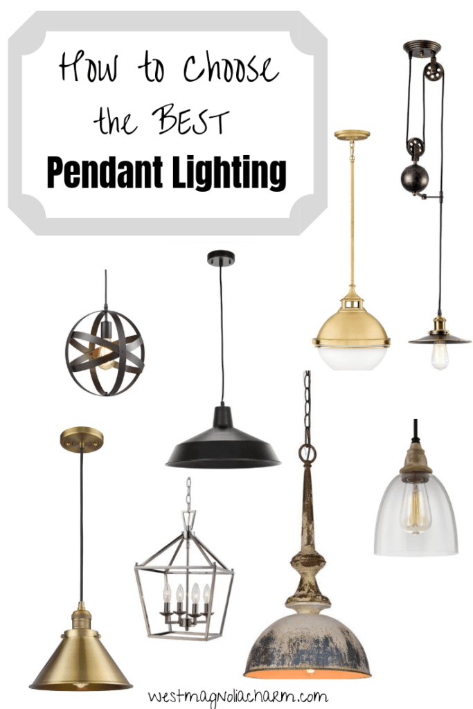 Pendant Lighting How To Choose The Perfect One West