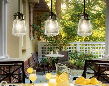 3 outdoor pendant lights