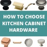 how to choose cabinet hardware