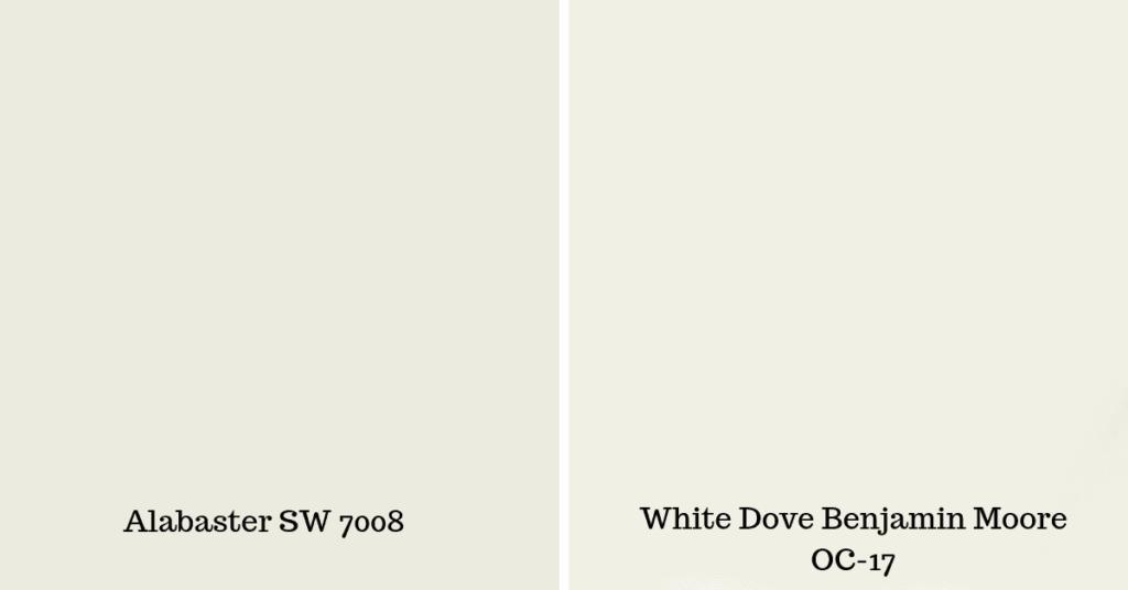 Sherwin Williams Alabaster Sw 7008 West Magnolia Charm
