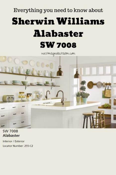 Sherwin Williams Alabaster (1)
