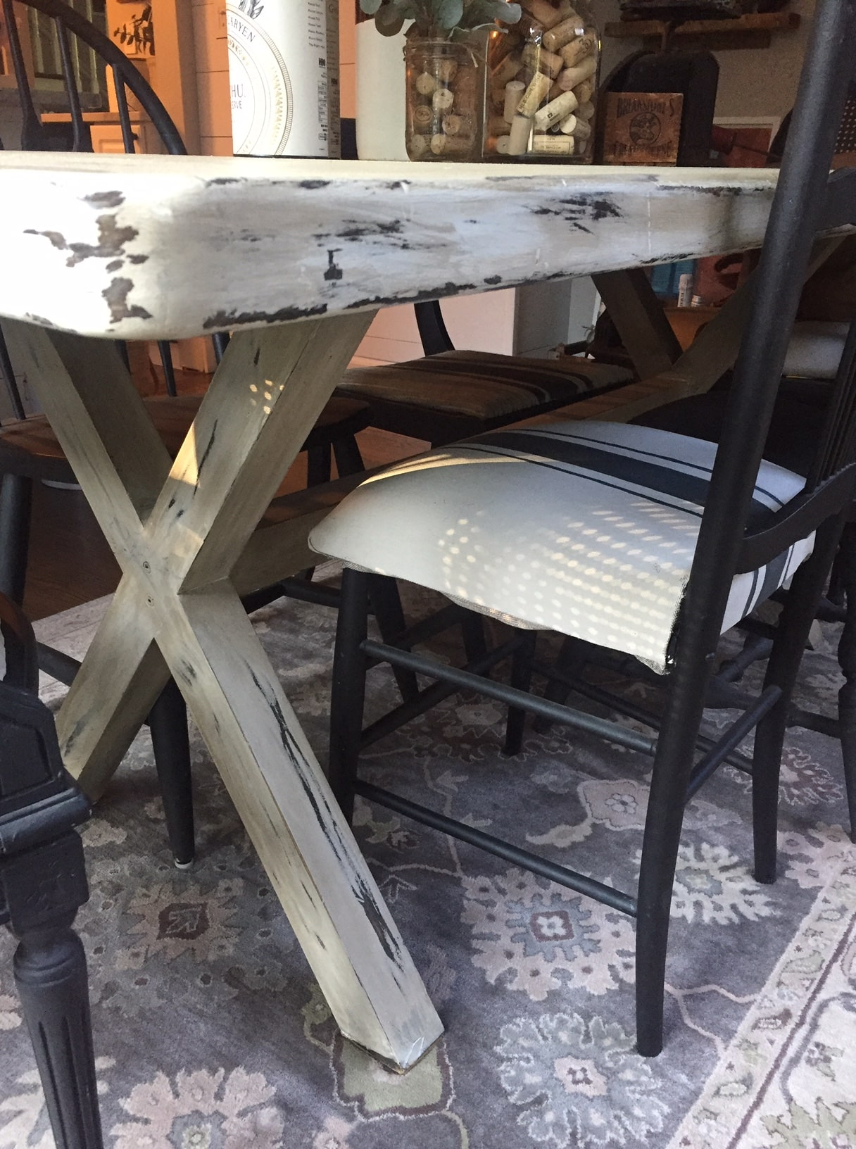 Chalk Paint Dining Room Table Is It A