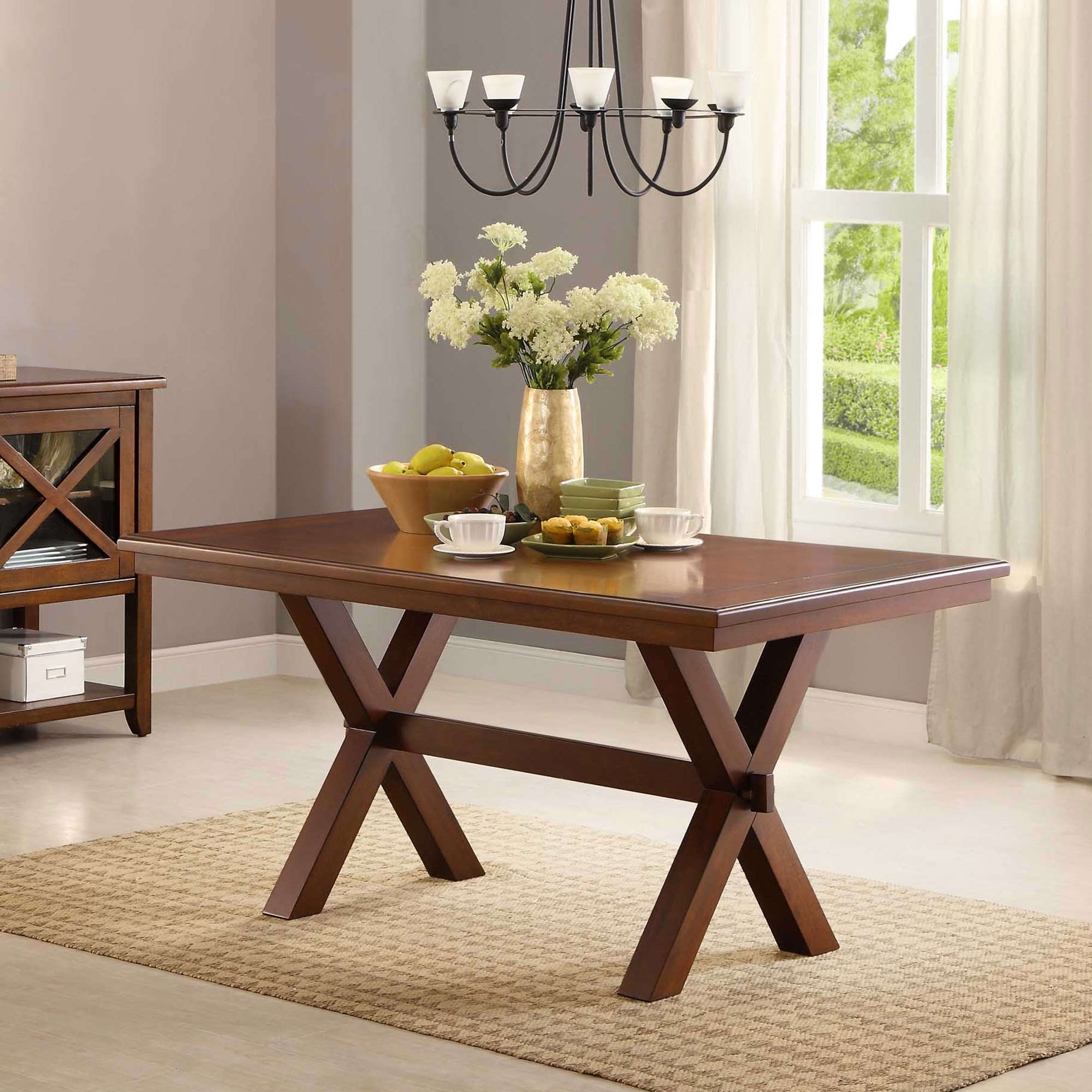 walmart cross leg table