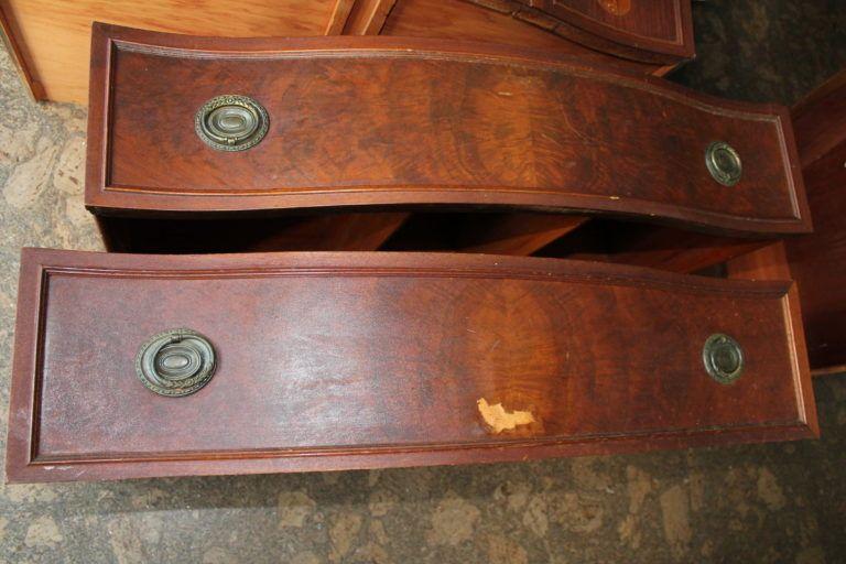 damaged dresser drawers