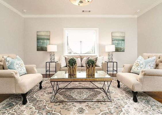 Iris and Oak Interiors - Revere Pewter Living Room
