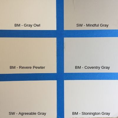 paint swatches