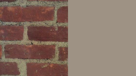 Brick and keystone gray