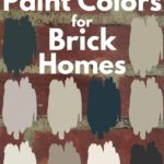 Exterior Paint colors for brick homes