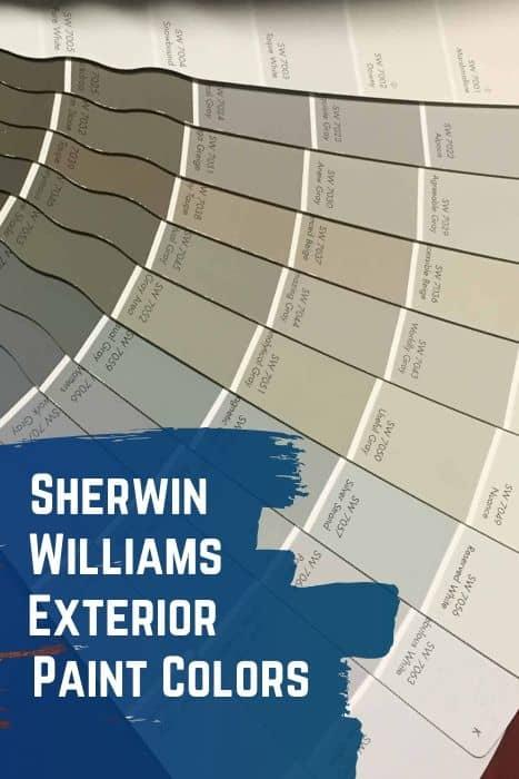 Sherwin Williams Exterior Paint Colors