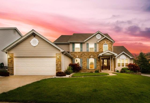 brick home color combinations
